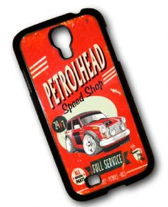 KOOLART PETROLHEAD SPEED SHOP Design For Classic Mini Cooper S Works Hard Case Cover Samsung Galaxy S4